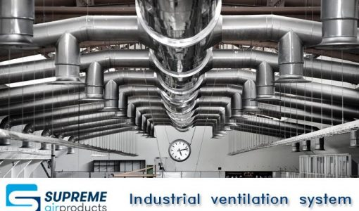 Industrial ventilation system Supremem Air Products